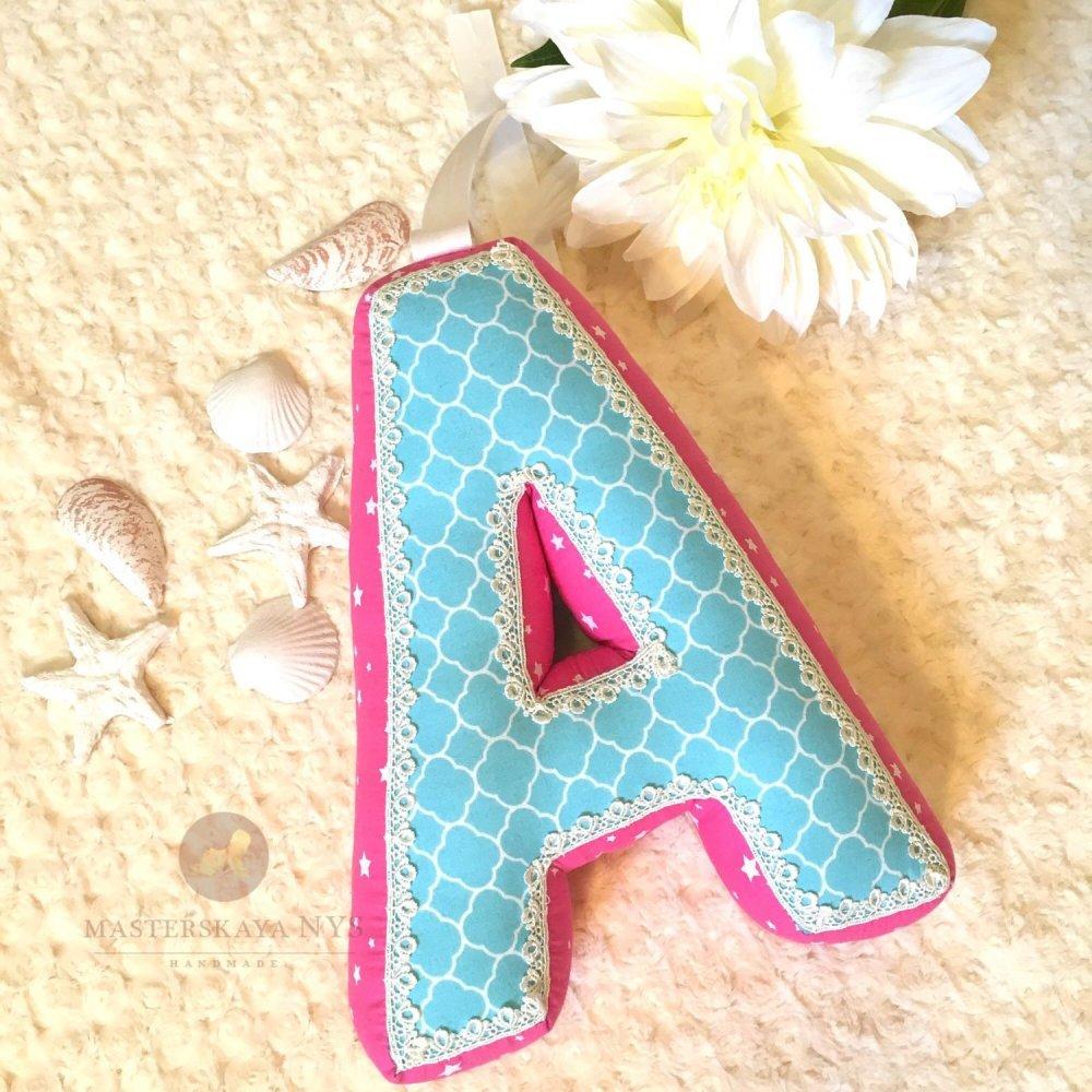 Как сшить буквы из ткани объемные своими руками 6