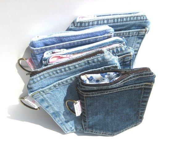 Сшить кошелек своими руками из джинс 114