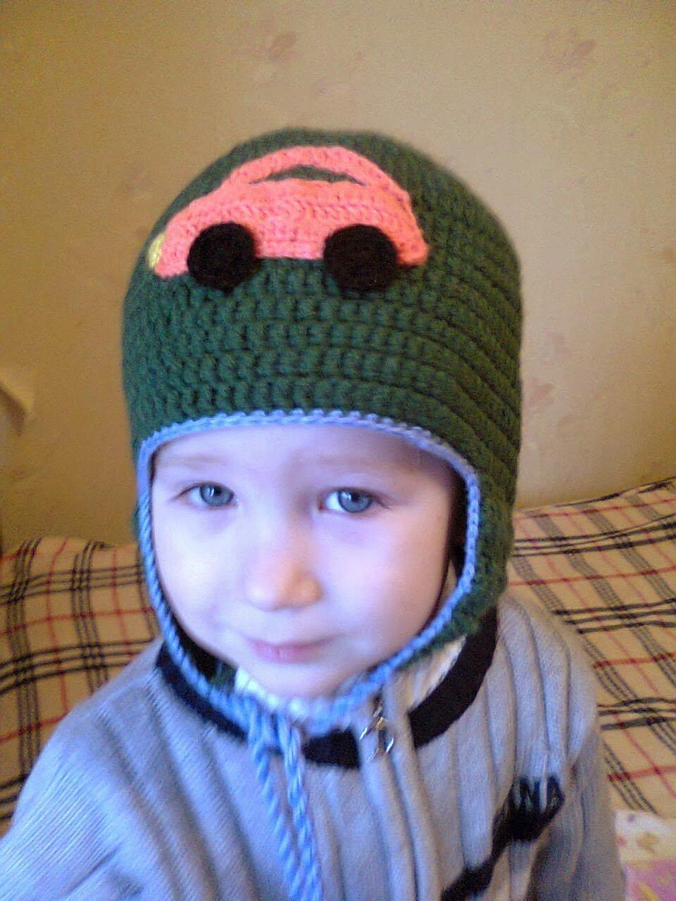 Фото шапок вязаных крючком для мальчика