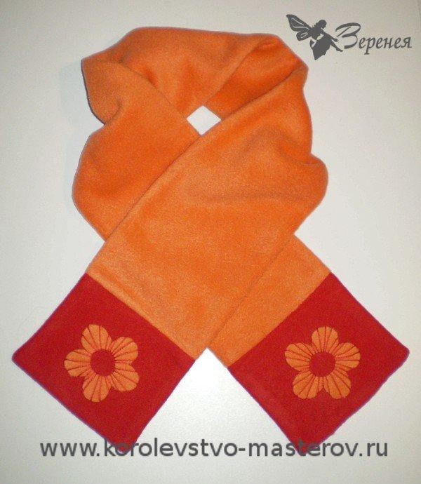 Сшить шарф для ребенка 47