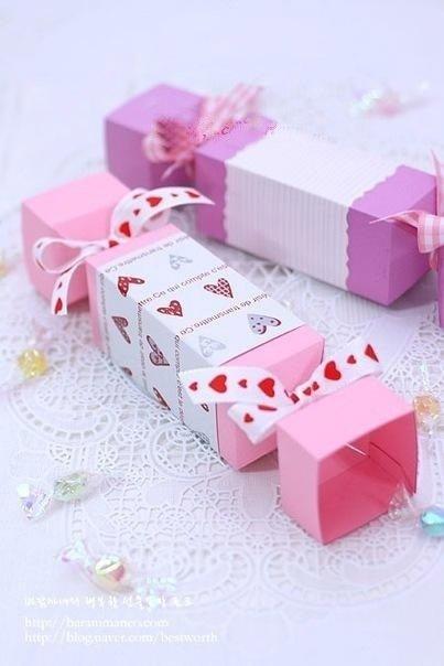 Как сделать коробку сладостей своими руками