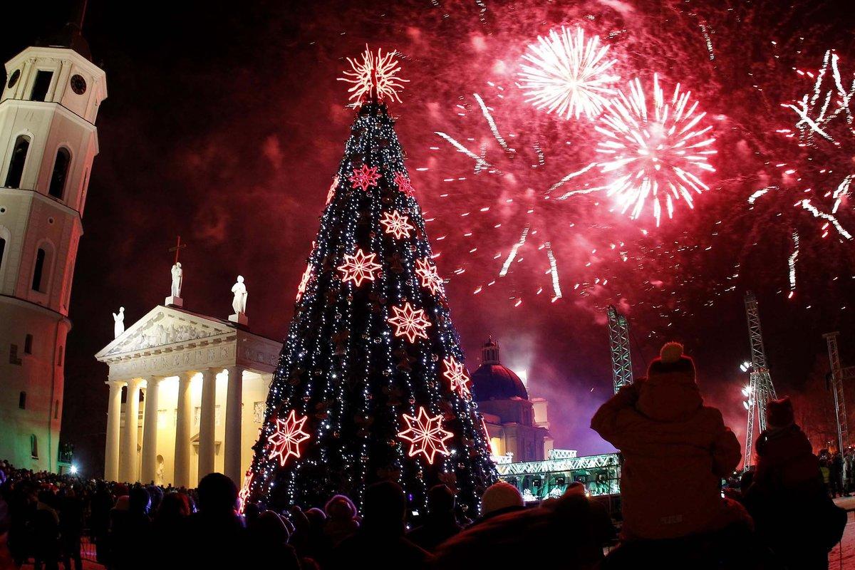 Где встретить новый год 2018 в европе
