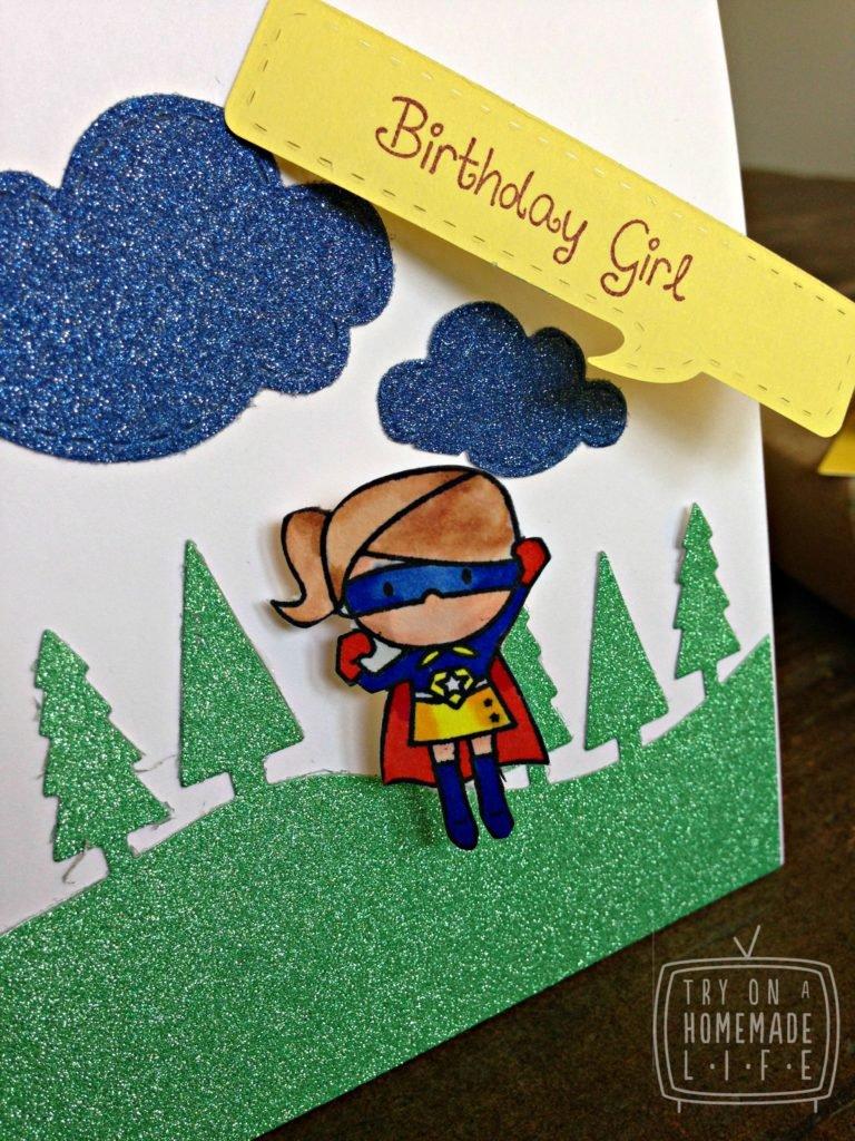 Как сделать открытку для подруги с днём рождения