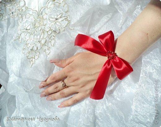 Ленты на руку для подружек невесты
