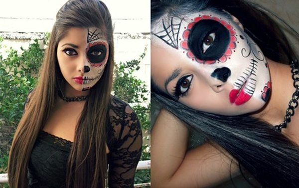 Хэллоуин для девушек своими руками