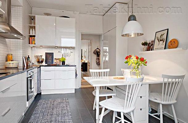 Интерьер кухни фото 13 метров