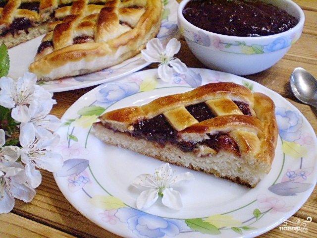 Рецепты дрожжевых пирогов с джемом с