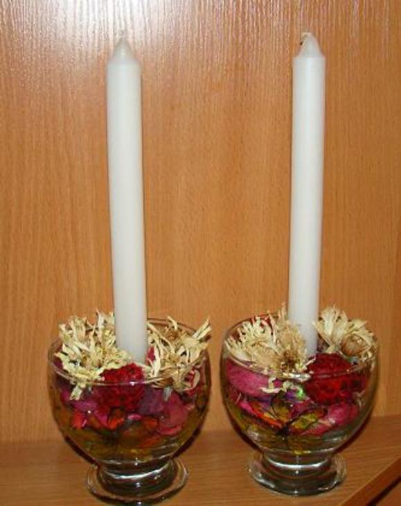 Из чего можно сделать подсвечник своими руками для длинных свечей 19