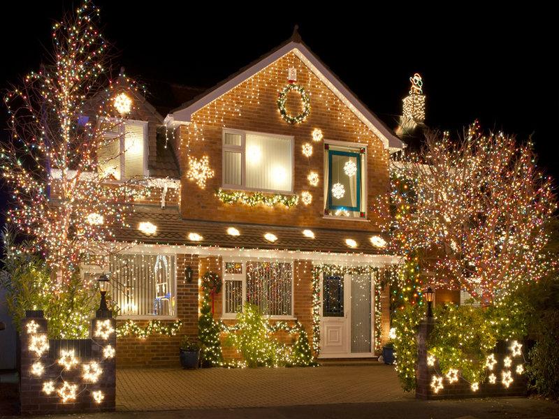 На новый год украсить дом