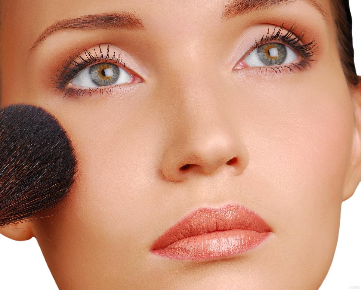 Нанесение теней повседневный макияж