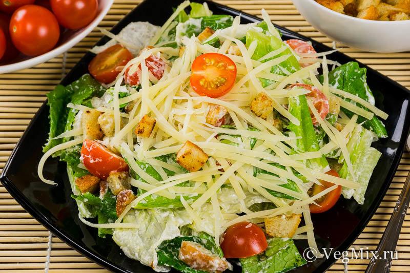Вегетарианский салат рецепт