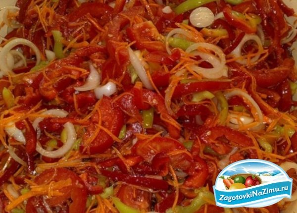 Украинский салат на зиму рецепты с