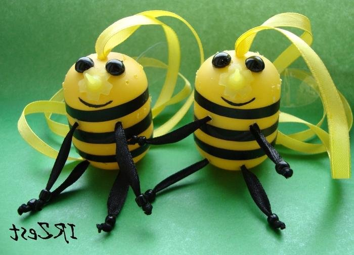 Поделка пчелы из киндер сюрприз 56