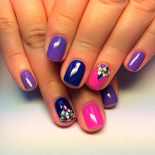 Гелевый маникюр на короткие ногти дизайн 2015