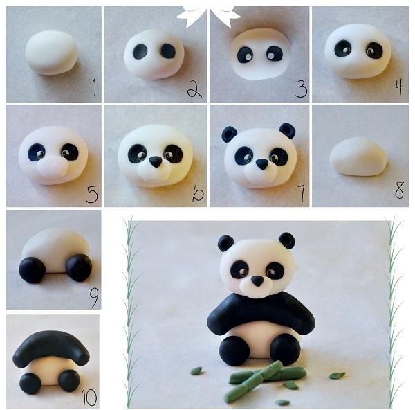 Поделки из пластилина животных
