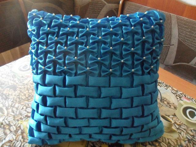 Декоративные подушки-буф своими руками мастер класс