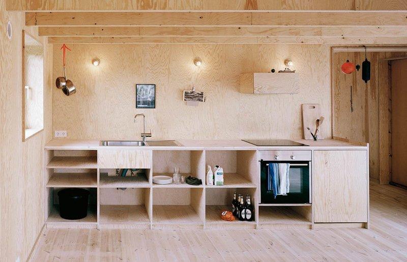 кухня своими руками из фанеры фото