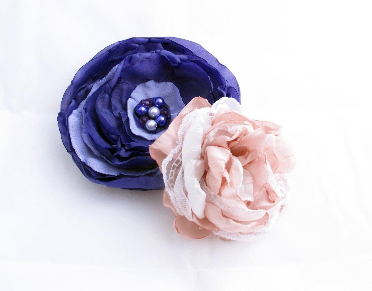 Как сделать цветы на платья