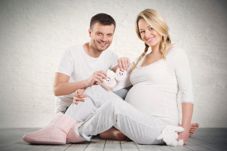 Фото беременных женщин с детьми