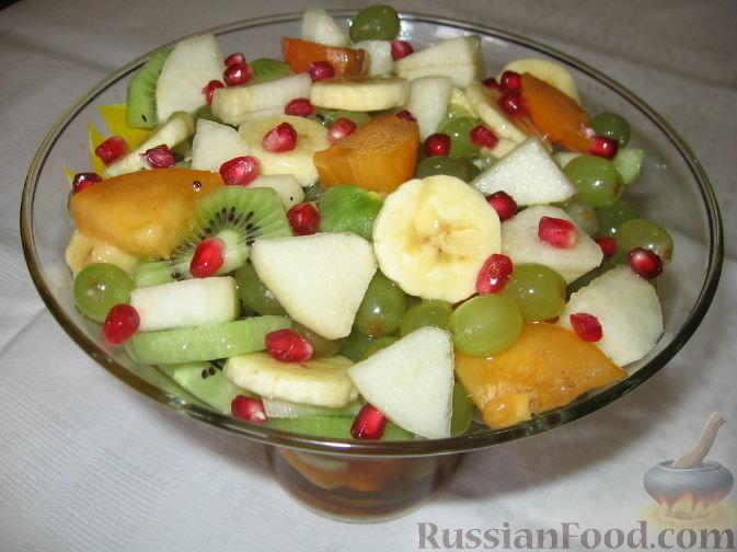 Как сделать фруктовый салат в домашних условиях рецепт
