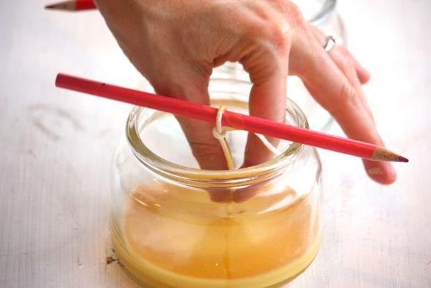 Как сделать тонкие свечи своими руками 94