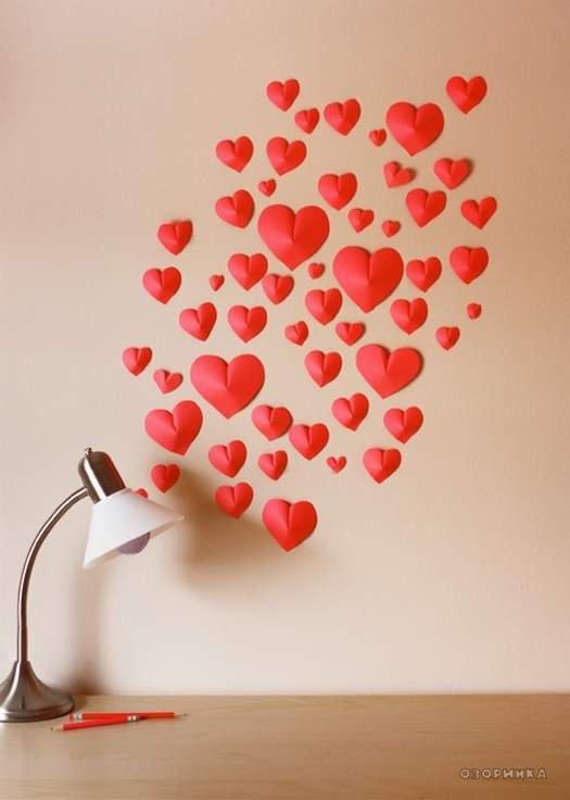 Выпуклое сердце из бумаги своими руками