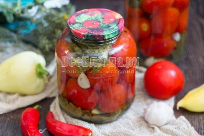 Вкусный сладких помидор на зиму