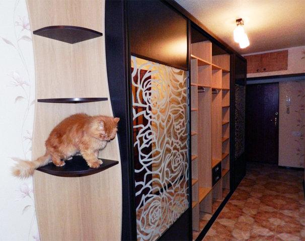 Прихожие для узких и длинных коридоров дизайн