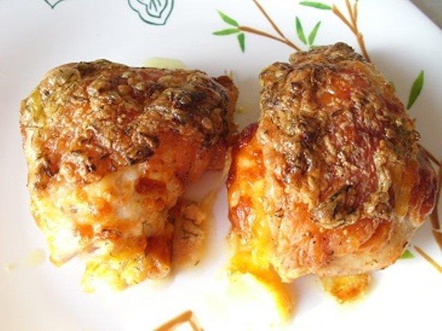 Куриные бедрышки в духовке рецепт с пошаговый рецепт с