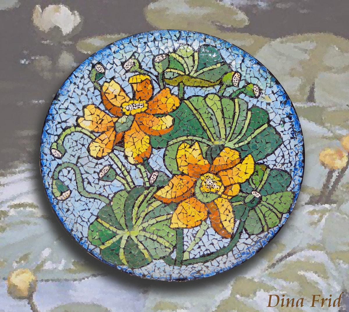 Яичная мозаика своими руками