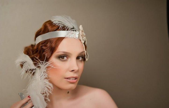 Прическа в стиле чикаго на средние волосы фото