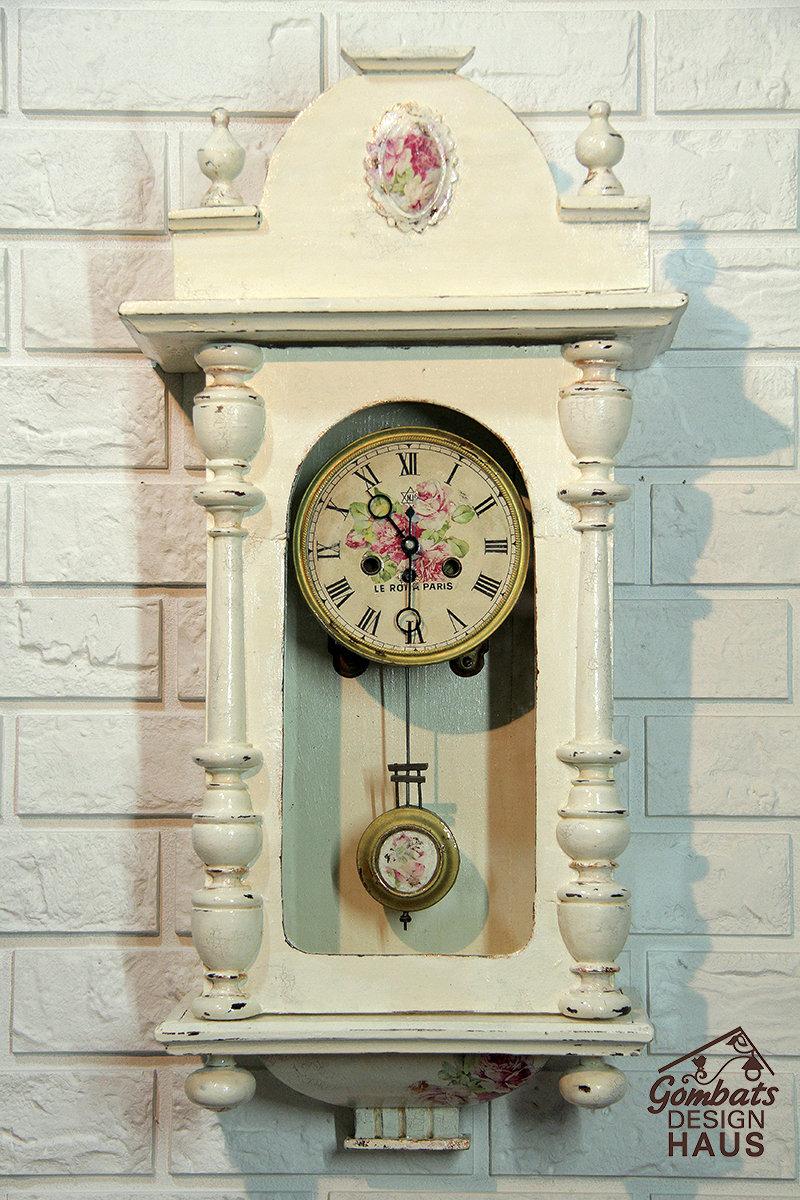 Декор старых часов своими руками 52
