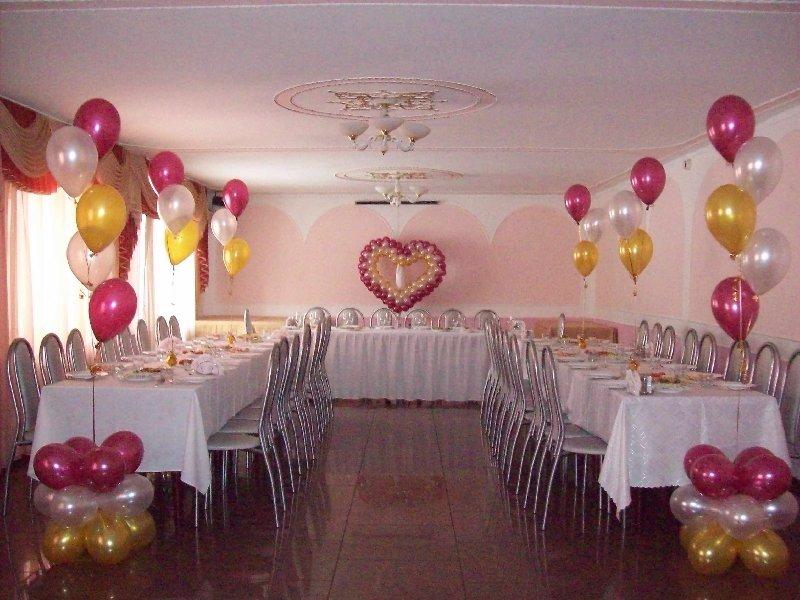 Украсить зал для свадьбы своими руками недорого 330