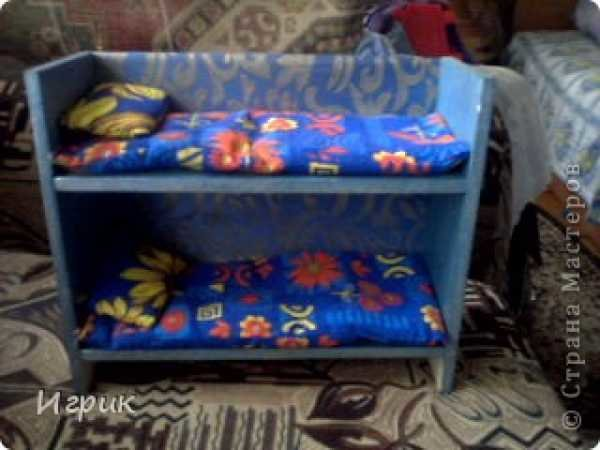 Мебель для кукол сделанный