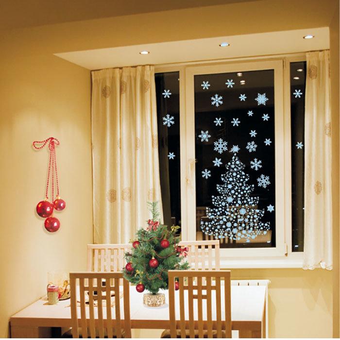 Своими руками новогоднее оформление окна