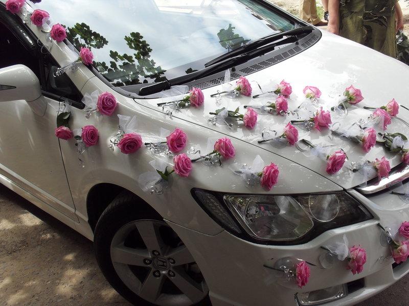 Украшения на свадьбу для машин своими руками