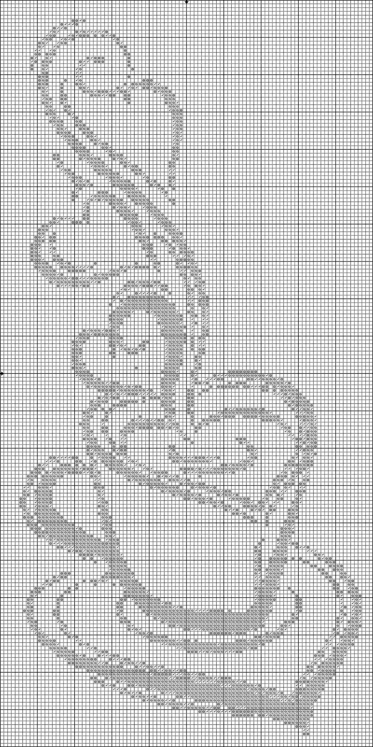 Вышивка крестом кофе схема 24
