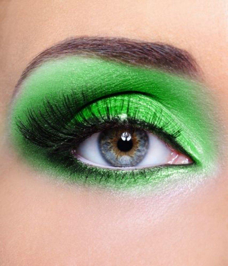 Макияж в зелёных тонах фото