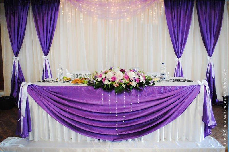Декор столов на свадьбу своими руками 56