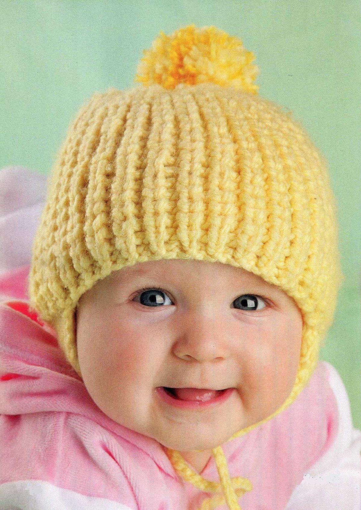 Вязание для малышей-шапки 97
