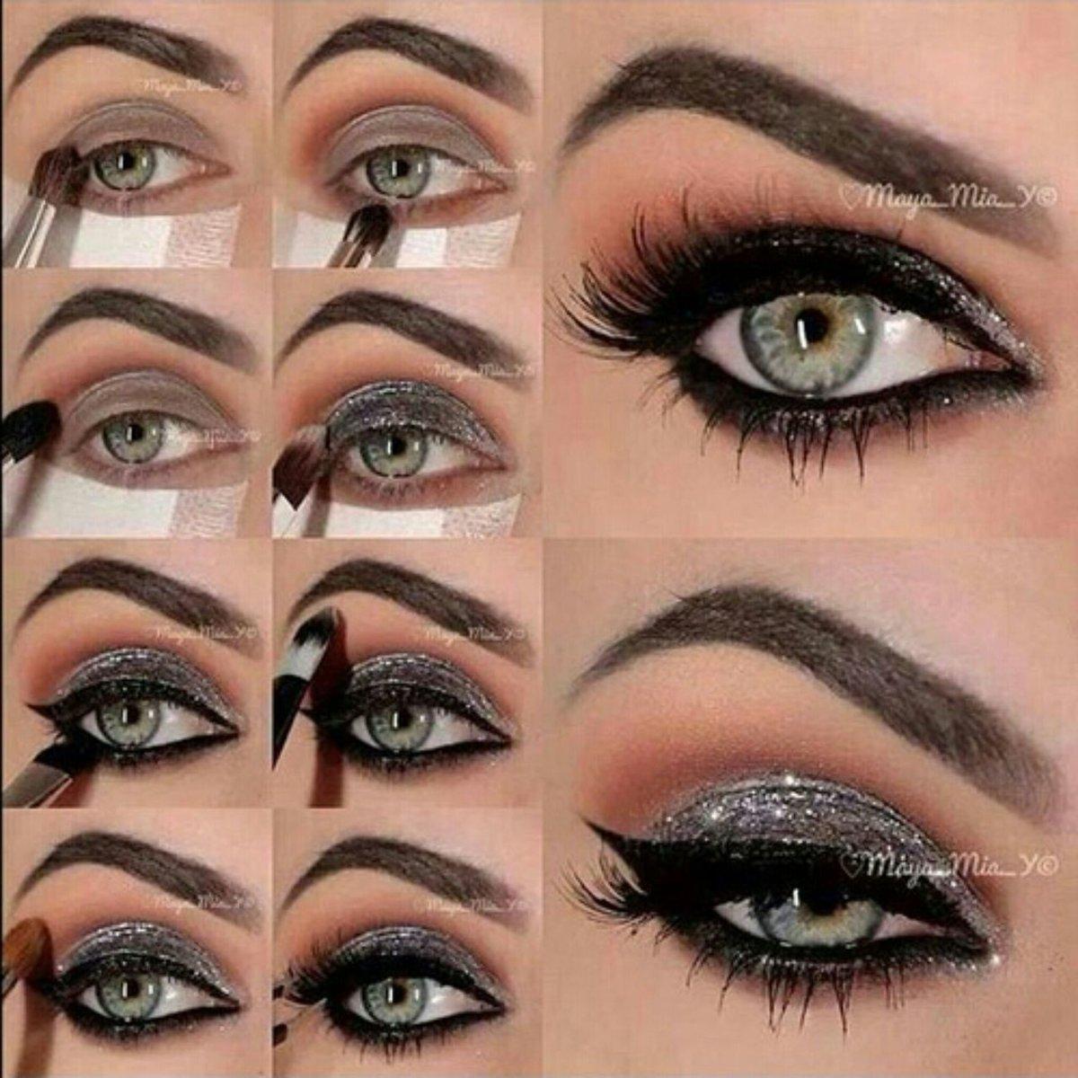 Аккуратный макияж для зеленых глаз