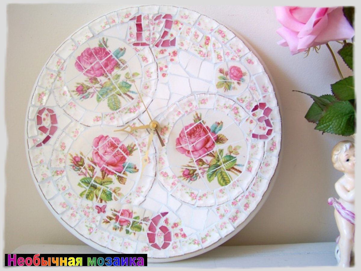 Поделки из старых тарелок своими руками фото