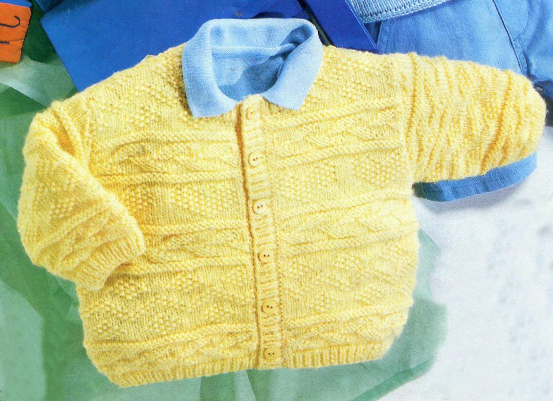 Страна мам вязание кофточек спицами для детей