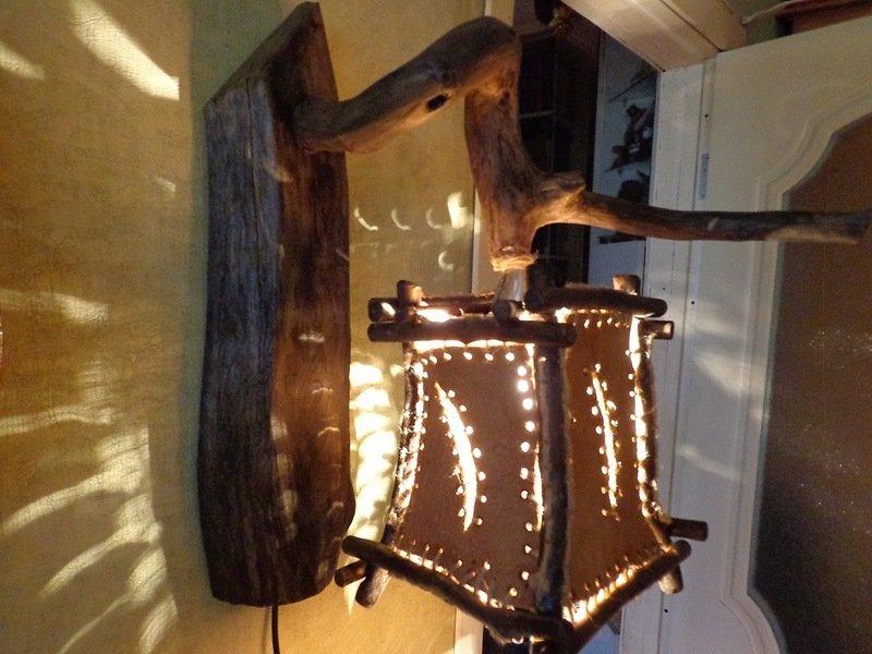 Декоративные светильники из дерева своими руками фото 45