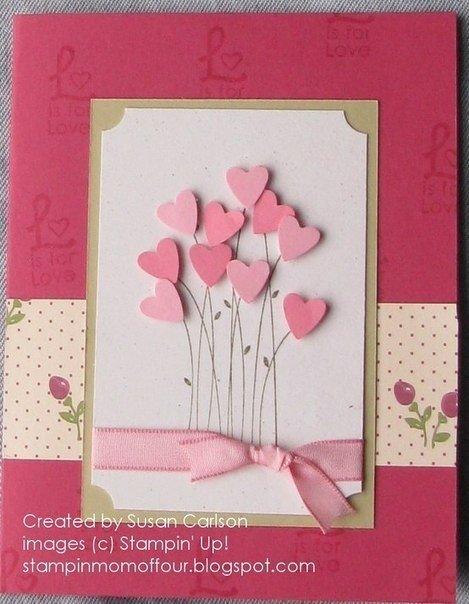 Красивые и простые открытки с днем рождения