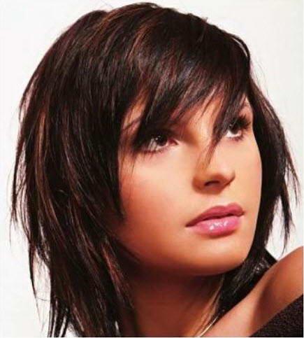 Стрижки для пушистых волос и круглого лица