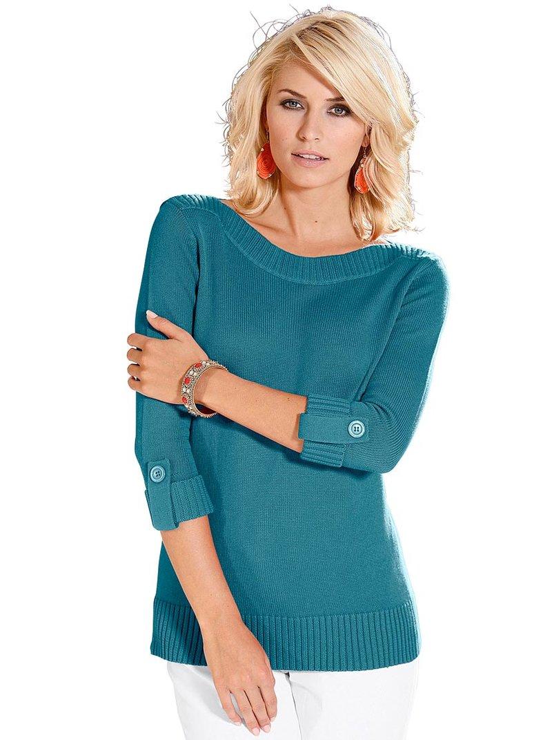 Фото женских вязаных пуловеров