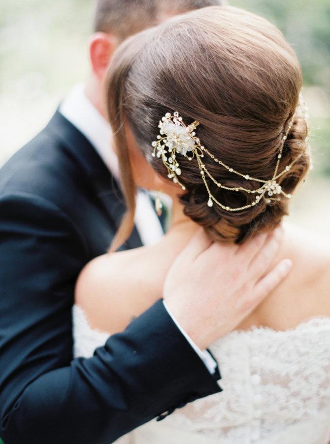 Виды украшений для прически невесты