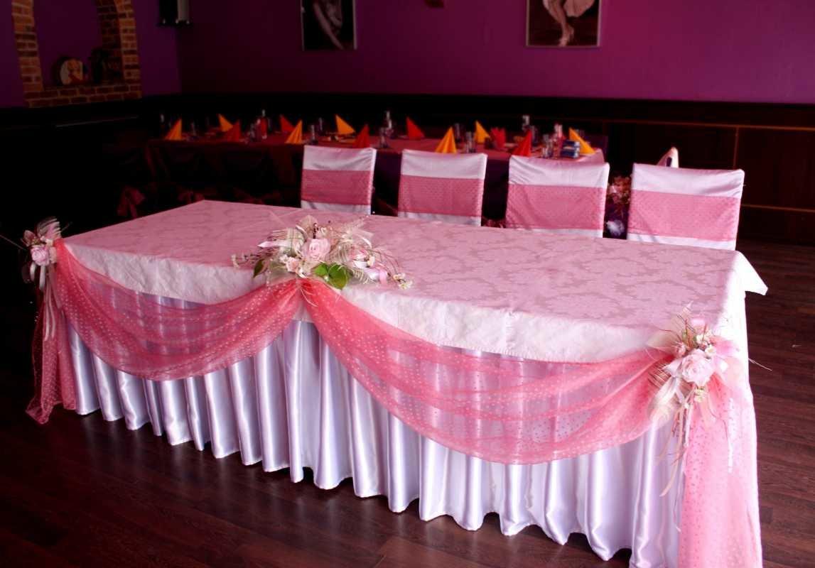 Свадебные столы своими руками