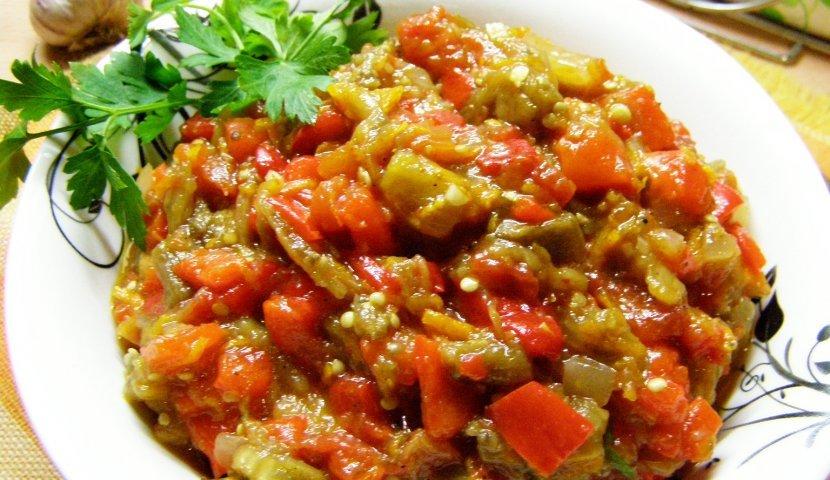 Икра из овощей на мангале рецепты